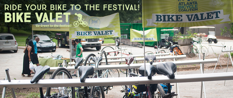 Atlanta Bicycle Coalition Bike Valet