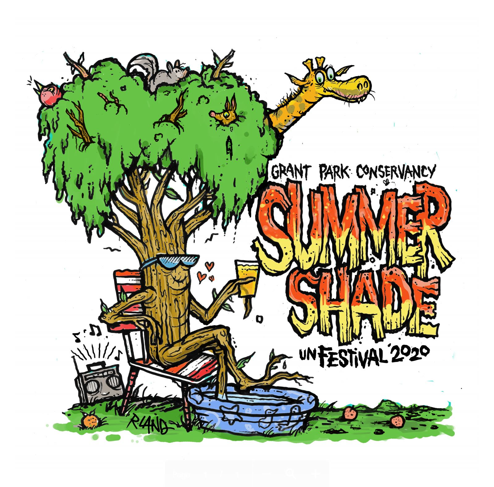 Summer Shade unFestival T-Shirts designed by R. Land